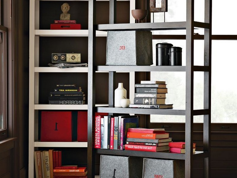 West Elm Bookcase Room Divider