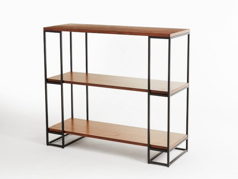 West Elm Rectangle Cutout Bookcase