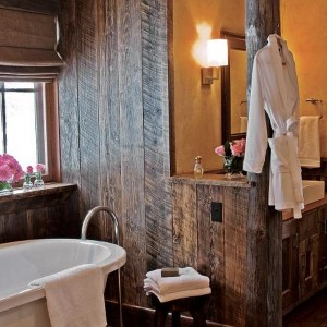 Western Bathroom Accessories Rustic