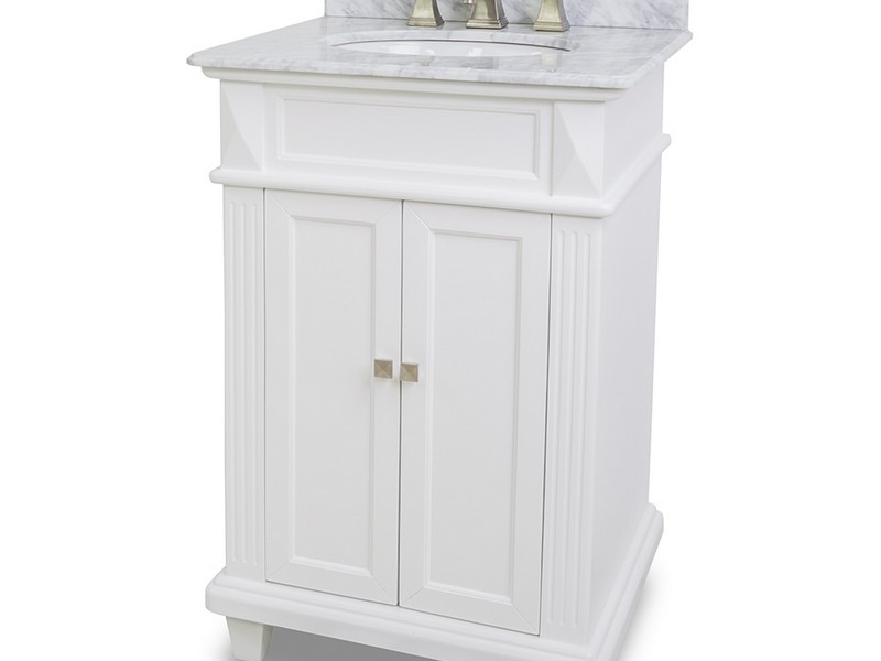 White 24 Inch Bathroom Vanity