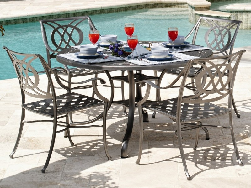 White Aluminum Patio Furniture Clearance