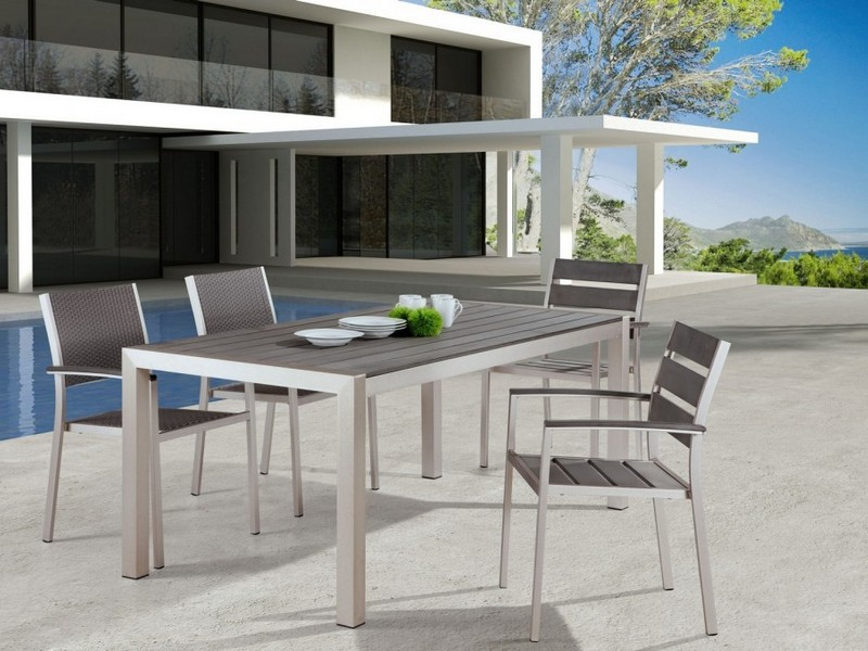 White Aluminum Patio Furniture
