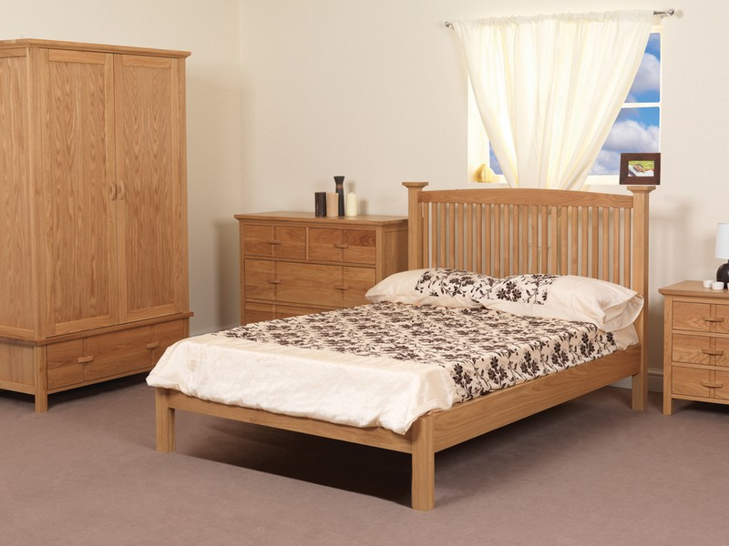 White And Oak Bedroom Furniture Sets
