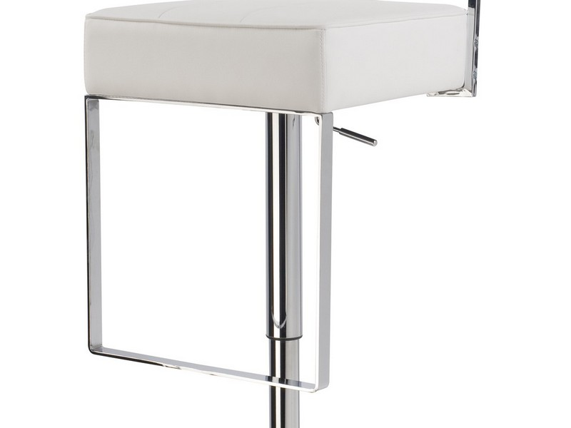 White Bar Stools With Backs