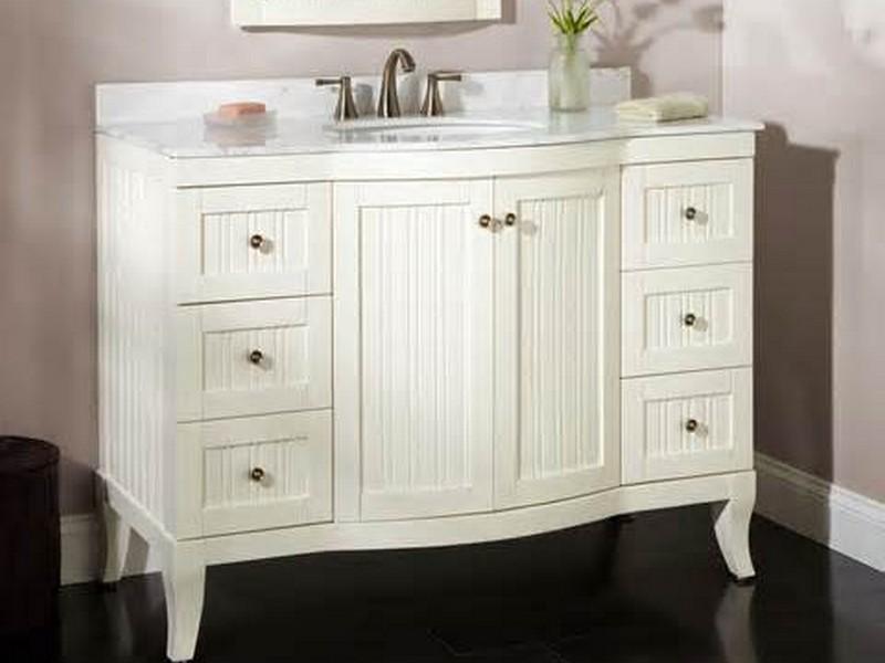 White Bathroom Vanities With Tops