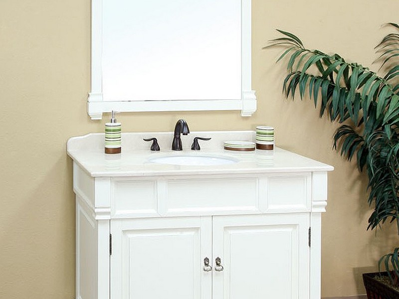 White Bathroom Vanity Images