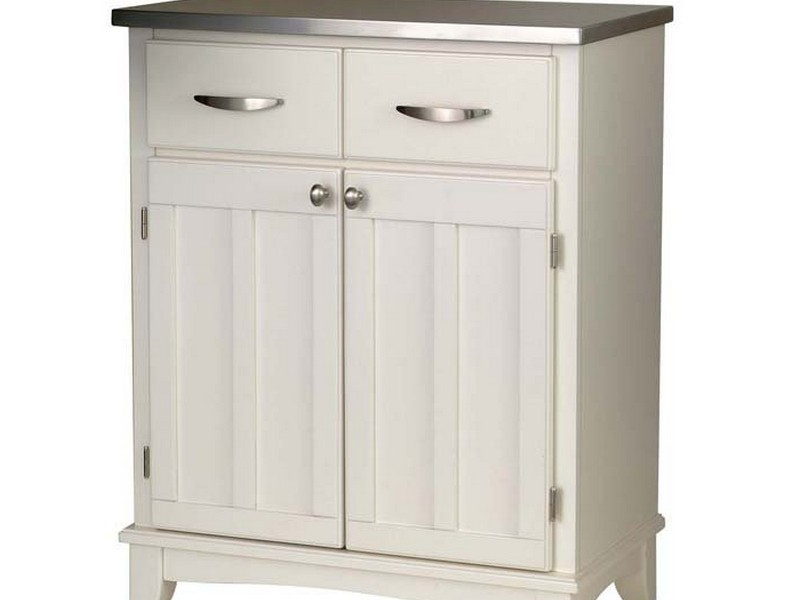 White Buffet Cabinet