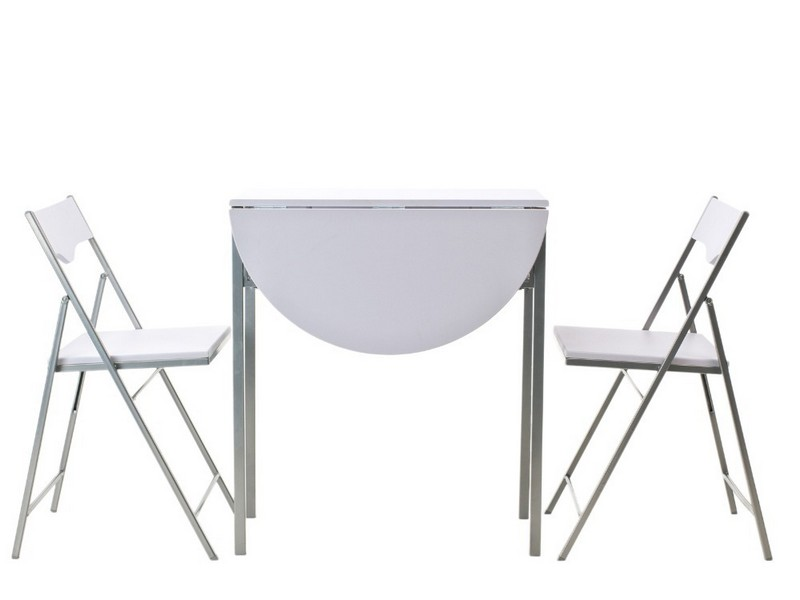 White Butterfly Table And Chairs