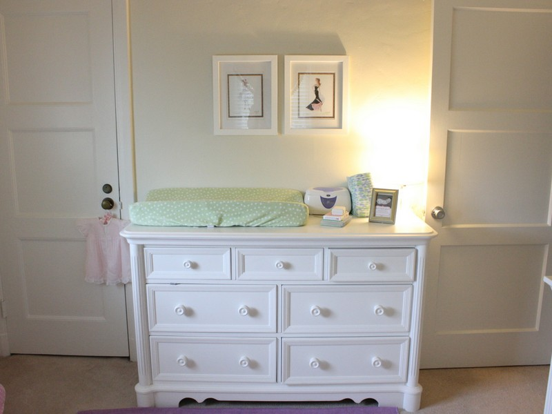 White Dresser For Nursery