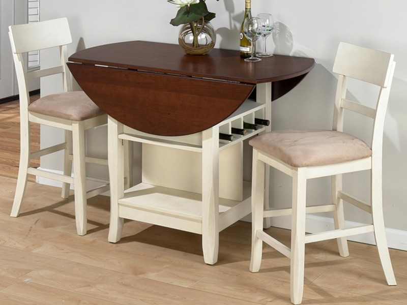 White Drop Leaf Table And Chairs