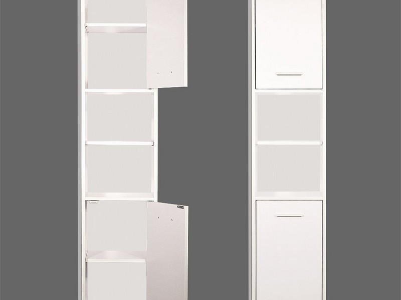 White Freestanding Bathroom Cabinet Uk