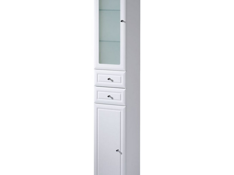 White Freestanding Bathroom Cabinet