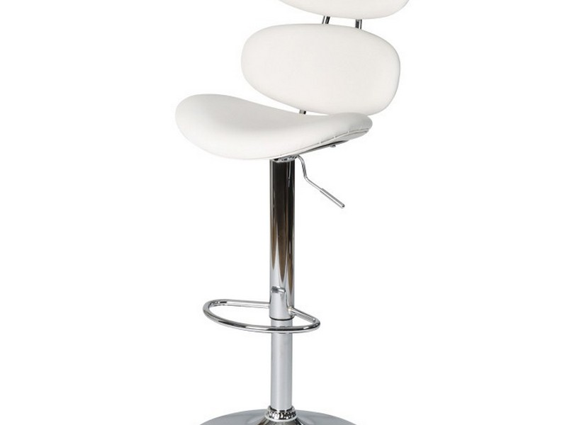 White High Back Bar Stools
