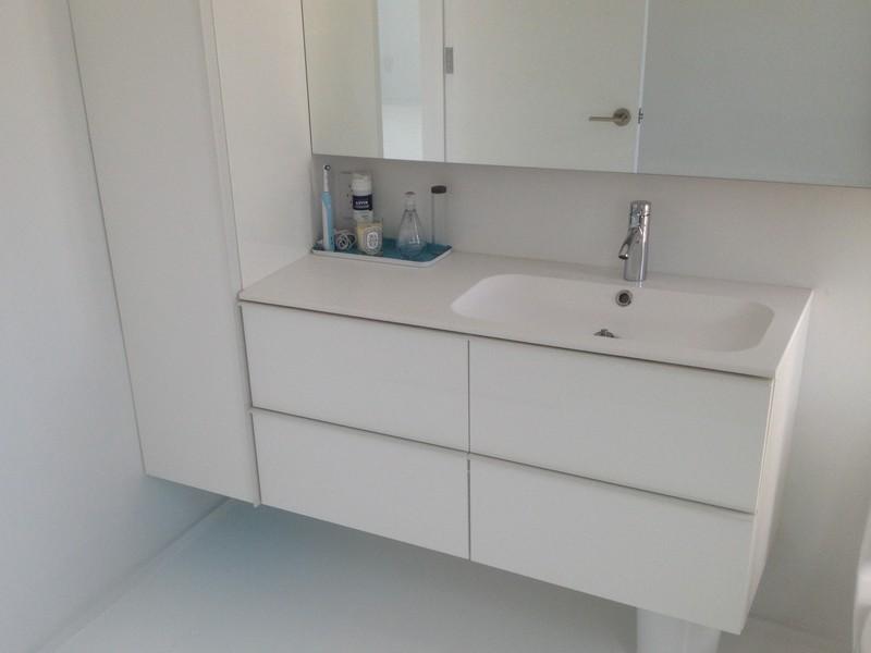 White Ikea Bathroom Vanity