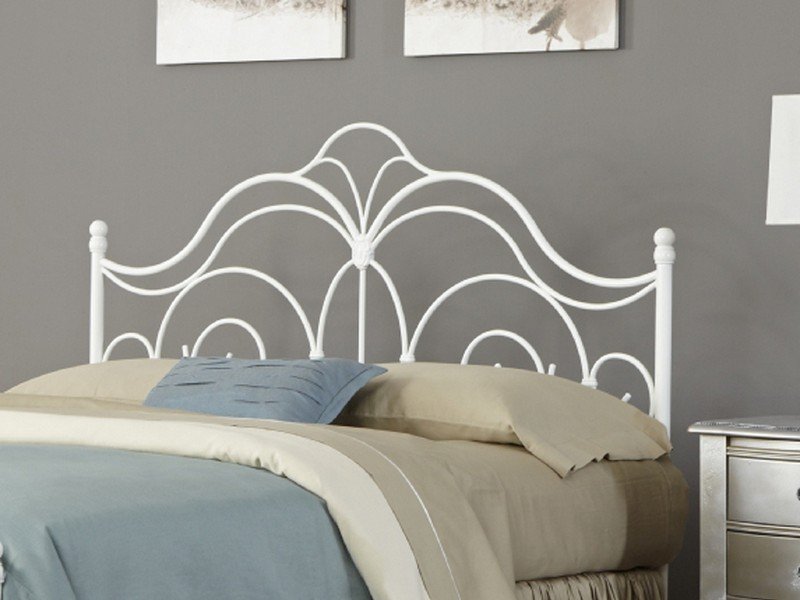 White Iron Headboards