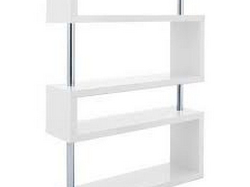 White Lacquer Bookcase