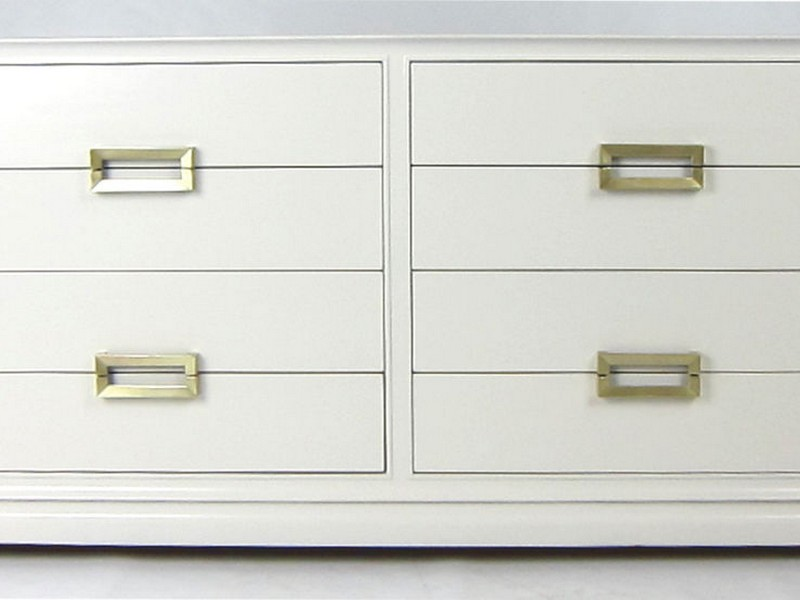 White Lacquer Dressers