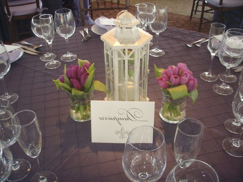 White Lanterns For Wedding Centerpieces