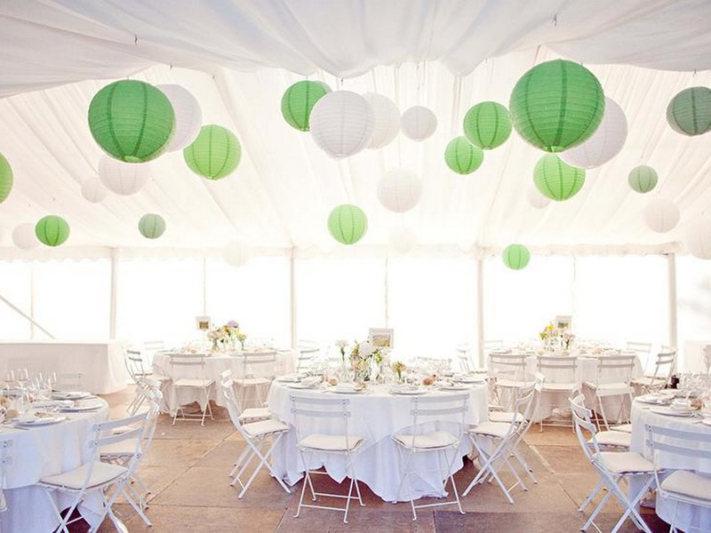 White Lanterns For Weddings