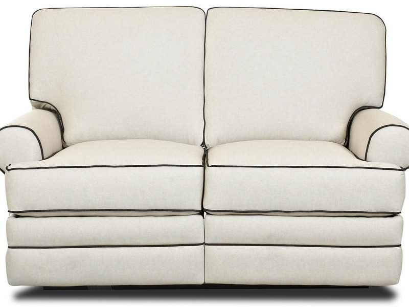 White Leather Reclining Sofas