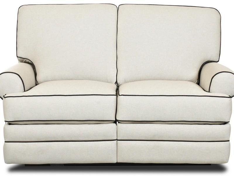 White Leather Reclining Sofas
