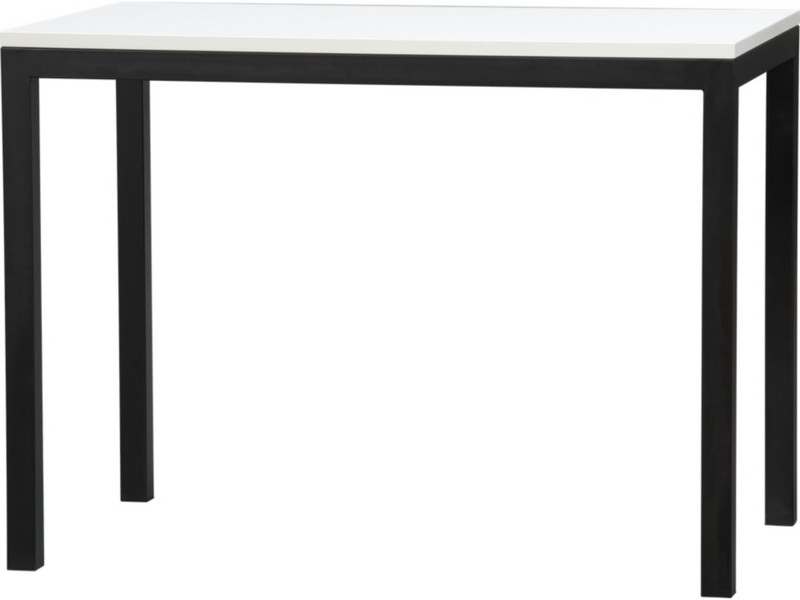 White Parsons Dining Table