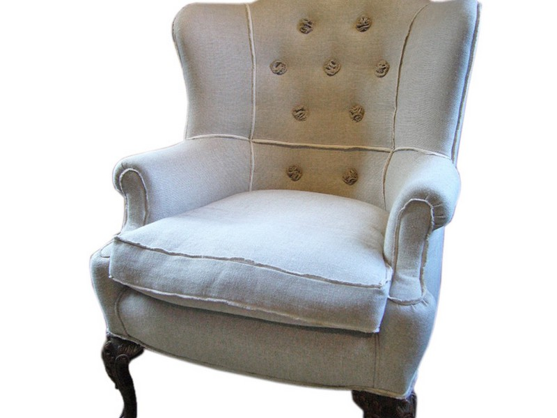 White Queen Anne Chairs