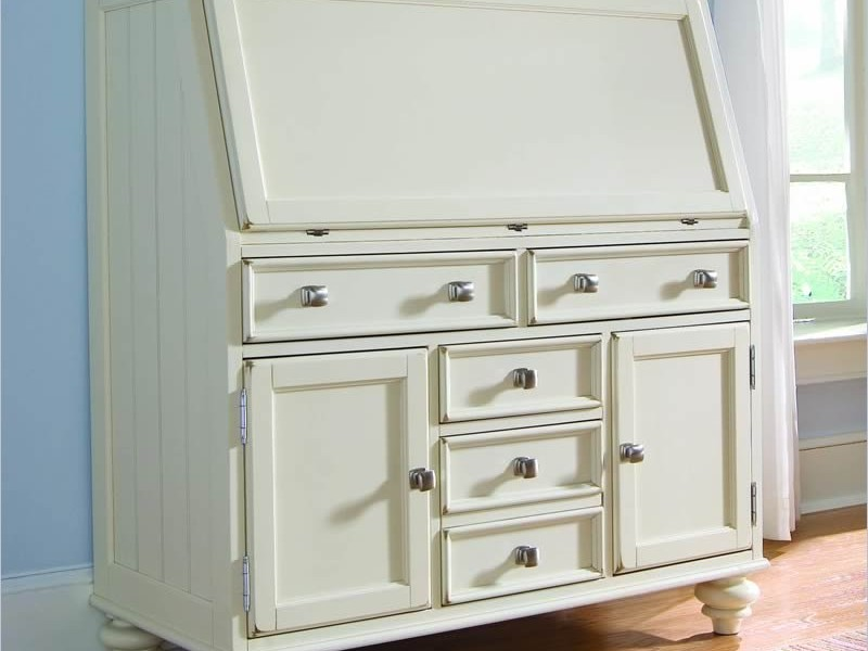 White Secretary Desk