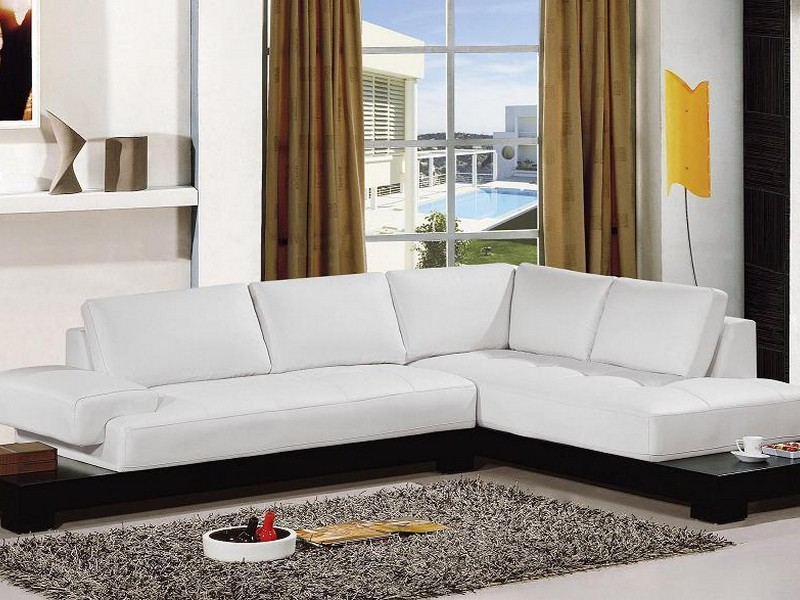 White Sectional Couches
