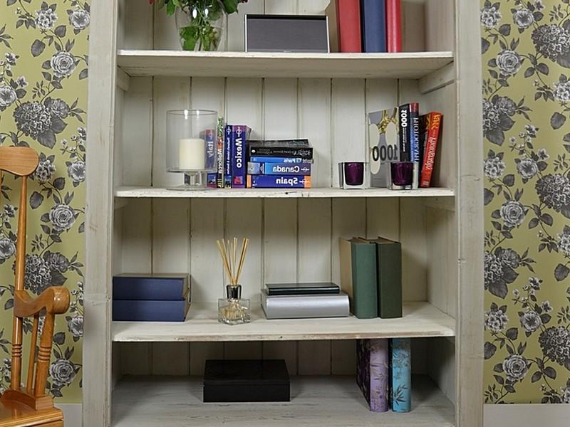 White Shabby Chic Bookshelf