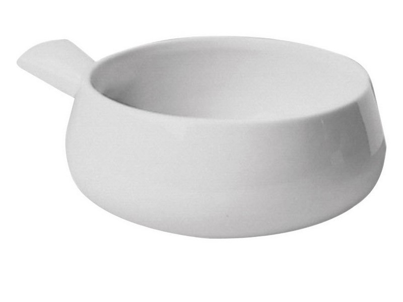 White Soup Bowls With Handles