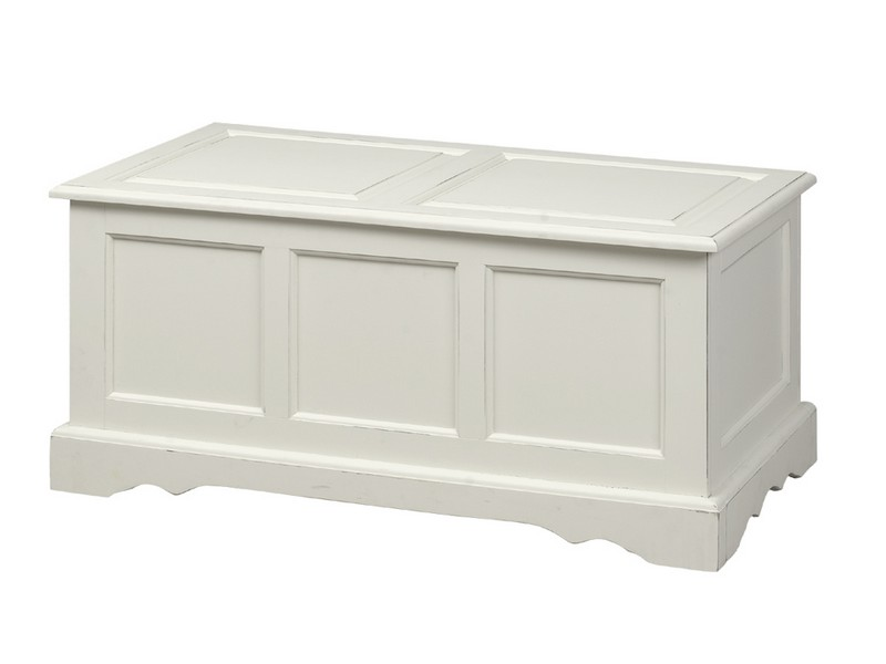 White Storage Chests And Trunks
