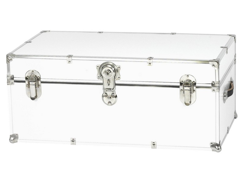 White Storage Trunk