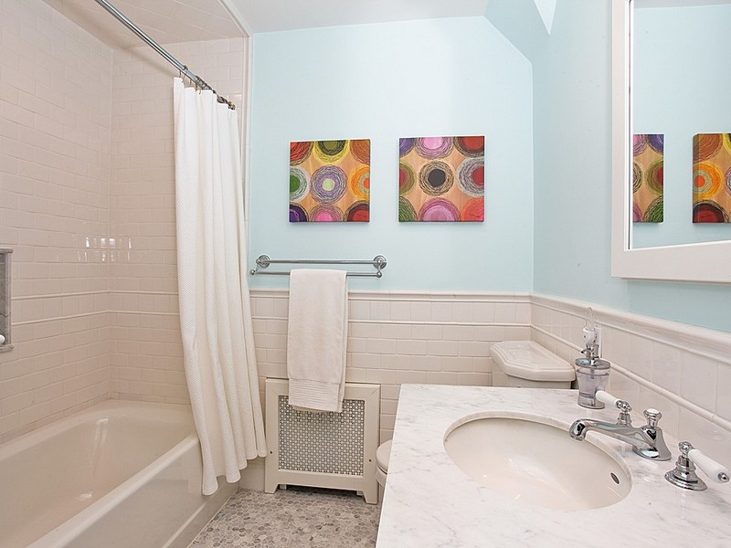 White Subway Tile Bathroom Pictures