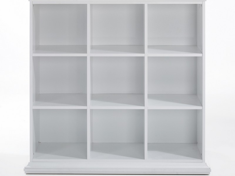 White Tall Bookcase