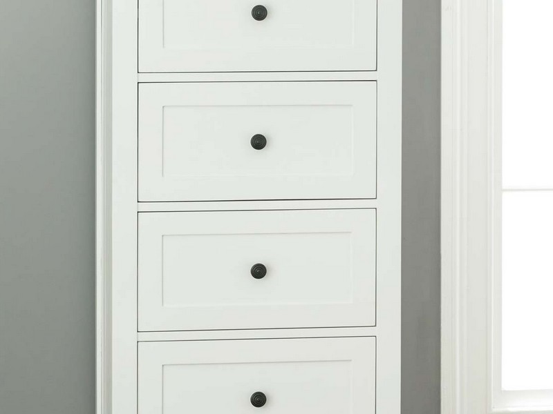 White Tall Boy Dresser