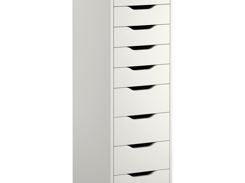 White Tall Dresser Ikea