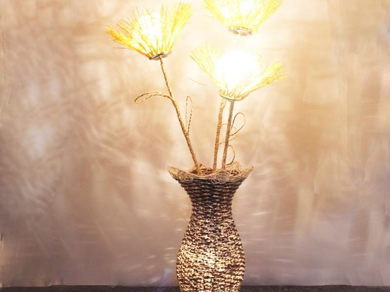 Wicker Floor Lamps Rattan