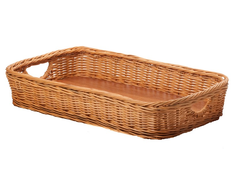 Wicker Serving Trays