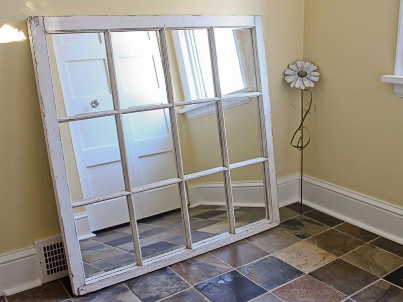 Window Pane Mirrors