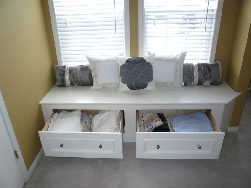 Window Seat Storage Bench