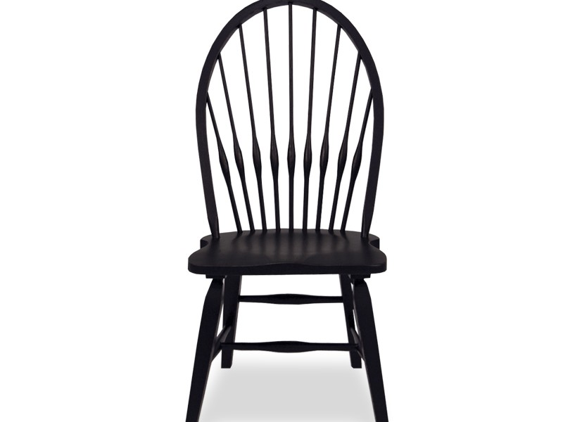 Windsor Side Chair Black
