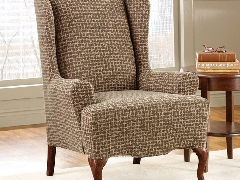 Wing Chair Slip Covers