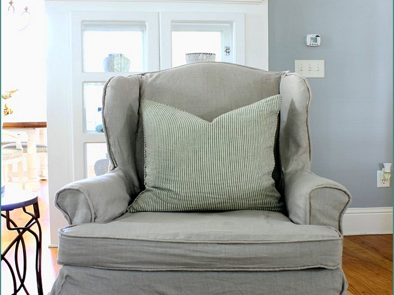 Wing Chair Slipcovers 2 Piece