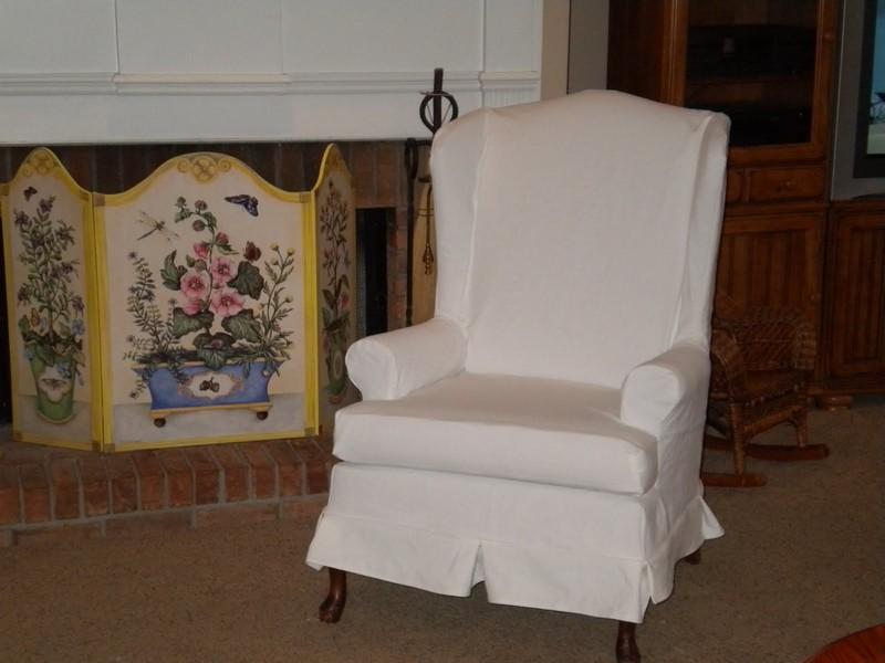 Wing Chair Slipcovers Ikea