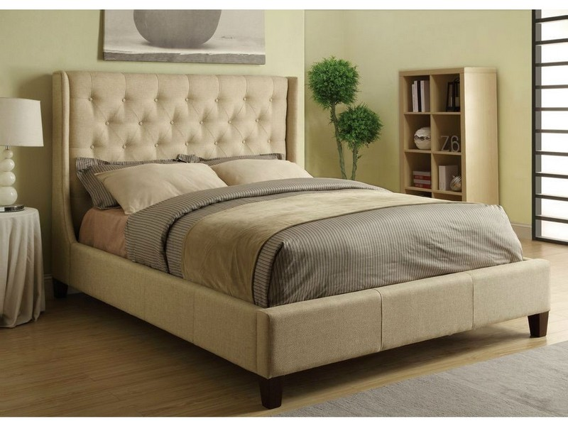Wingback King Bed