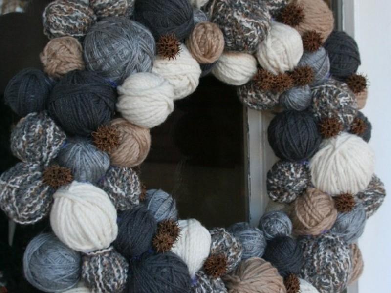 Winter Door Wreath Ideas