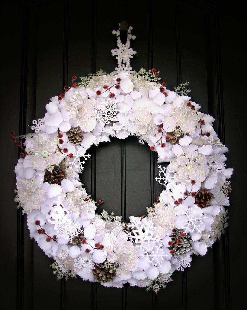 Winter Wonderland Wreath Ideas