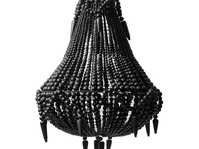 Wood Beaded Chandelier Australia