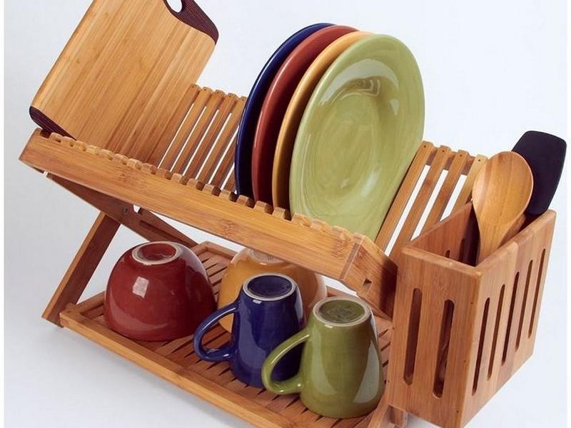 Wood Dish Rack